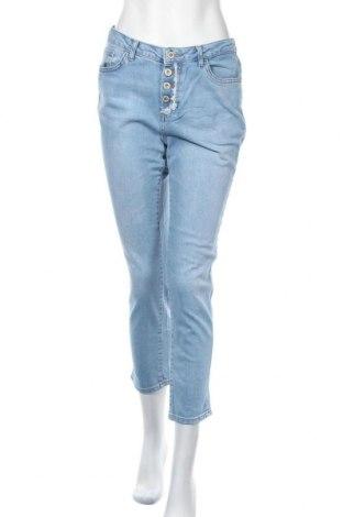 Дамски дънки Koton, Размер M, Цвят Син, 99% памук, 1% еластан, Цена 20,53лв.