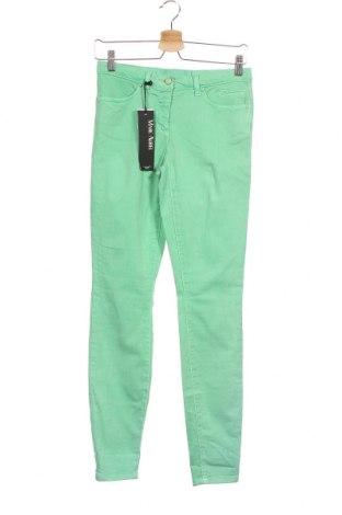 Дамски дънки Marc Aurel, Размер XS, Цвят Зелен, 98% памук, 2% еластан, Цена 25,99лв.