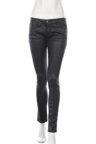 Дамски дънки Massimo Dutti, Размер M, Цвят Син, 98% памук, 2% еластан, Цена 33,60лв.