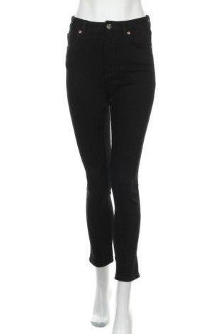 Дамски дънки Monki, Размер S, Цвят Черен, 99% памук, 1% еластан, Цена 48,30лв.