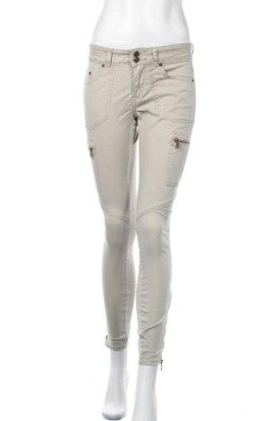 Дамски дънки Perfect Jeans By Gina Tricot, Размер S, Цвят Бежов, 98% памук, 2% еластан, Цена 5,51лв.