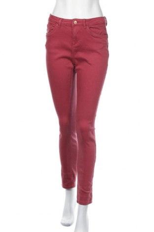 Дамски дънки Promod, Размер S, Цвят Розов, 98% памук, 2% еластан, Цена 21,26лв.