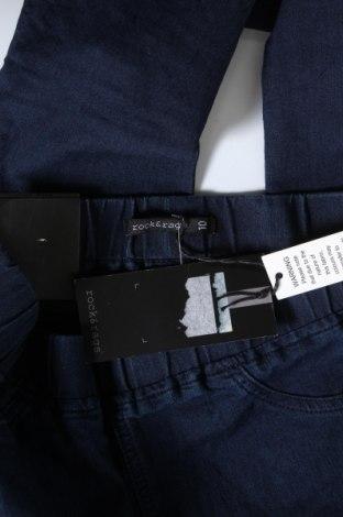 Дамски дънки Rock&Rags, Размер S, Цвят Син, 65% памук, 32% полиестер, 3% еластан, Цена 27,65лв.