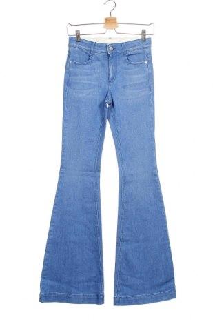 Дамски дънки Stella McCartney, Размер XS, Цвят Син, 91% памук, 7% полиестер, 2% еластан, Цена 96,60лв.