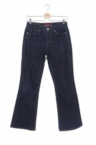 Дамски дънки Tommy Hilfiger, Размер XS, Цвят Син, 99% памук, 1% еластан, Цена 9,07лв.