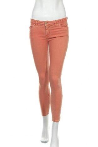 Дамски дънки Zara, Размер S, Цвят Оранжев, Цена 24,70лв.