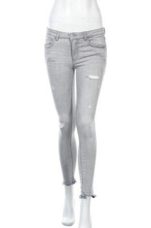 Дамски дънки Zara Trafaluc, Размер M, Цвят Сив, Цена 29,93лв.