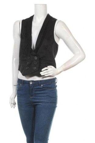 Дамски елек, Размер M, Цвят Черен, 97% памук, 3% еластан, Цена 6,04лв.