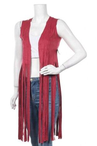 Дамски елек, Размер M, Цвят Червен, 90% полиестер, 10% еластан, Цена 24,36лв.
