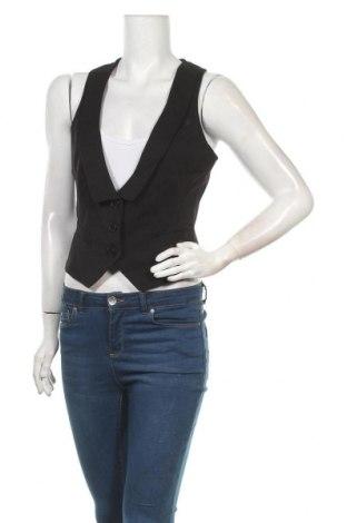 Дамски елек Edc By Esprit, Размер M, Цвят Черен, 65% полиестер, 32% вискоза, 3% еластан, Цена 5,51лв.