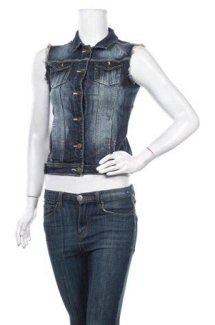 Γυναικείο γιλέκο Hydee by Chicoree, Μέγεθος XS, Χρώμα Μπλέ, 98% βαμβάκι, 2% ελαστάνη, Τιμή 5,23€