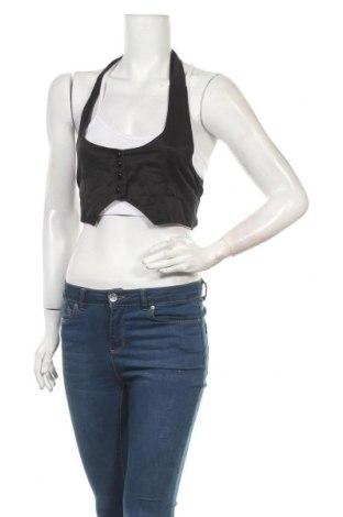 Дамски елек Today, Размер S, Цвят Черен, 65% памук, 35% полиестер, Цена 6,04лв.