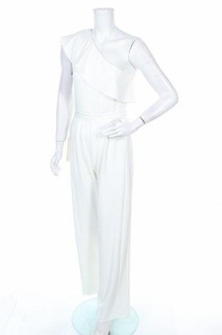 Дамски гащеризон Adrianna Papell, Размер M, Цвят Бял, 95% полиестер, 5% еластан, Цена 68,97лв.