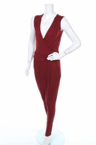 Дамски гащеризон Body Flirt, Размер XS, Цвят Червен, 95% вискоза, 5% еластан, Цена 18,43лв.