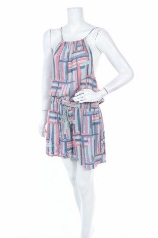 Дамски гащеризон Clothing & Co, Размер XXL, Цвят Многоцветен, Вискоза, Цена 11,34лв.