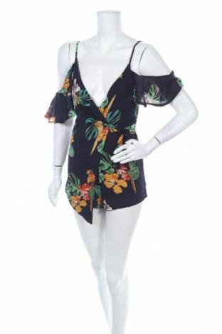 Дамски гащеризон Fashion nova, Размер XS, Цвят Многоцветен, Полиестер, Цена 17,64лв.