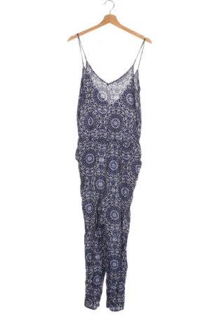 Дамски гащеризон Gina Tricot, Размер XS, Цвят Многоцветен, Вискоза, Цена 4,96лв.