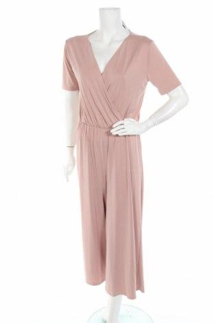 Дамски гащеризон H&M, Размер S, Цвят Розов, 65% модал, 32% полиестер, 3% еластан, Цена 24,48лв.