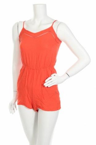 Дамски гащеризон H&M Divided, Размер XS, Цвят Оранжев, 100% вискоза, Цена 5,51лв.