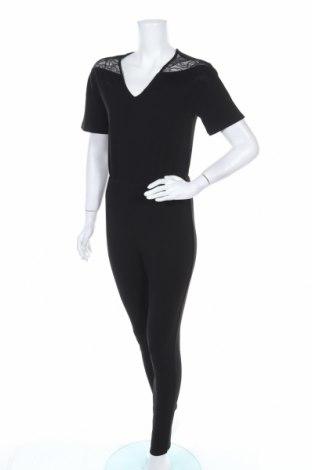 Дамски гащеризон Jacqueline De Yong, Размер XS, Цвят Черен, 95% полиестер, 5% еластан, Цена 16,80лв.