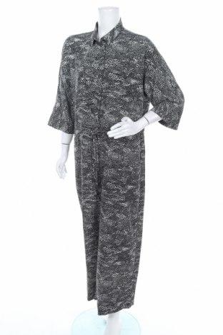 Дамски гащеризон Monki, Размер M, Цвят Черен, 100% полиестер, Цена 24,84лв.