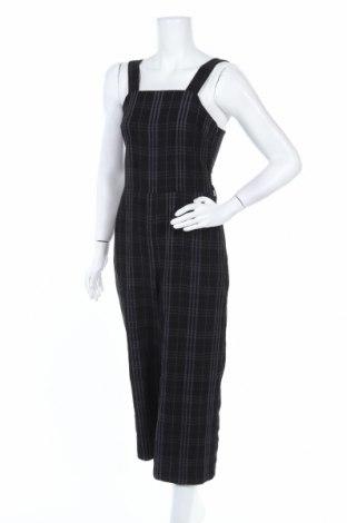 Дамски гащеризон Zara, Размер S, Цвят Черен, Вискоза, Цена 51,75лв.
