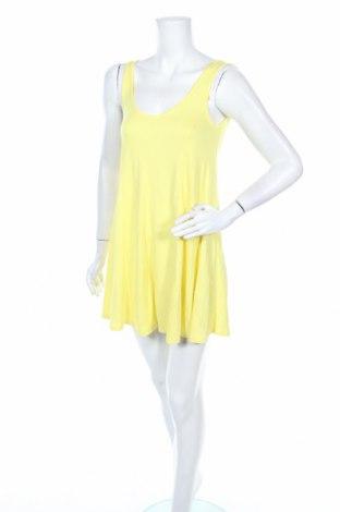 Дамски гащеризон Zara Trafaluc, Размер S, Цвят Жълт, 97% вискоза, 3% еластан, Цена 28,56лв.