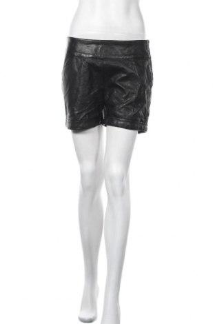 Γυναικείο κοντό δερμάτινο παντελόνι Hydee by Chicoree, Μέγεθος M, Χρώμα Μαύρο, Δερματίνη, Τιμή 5,46€