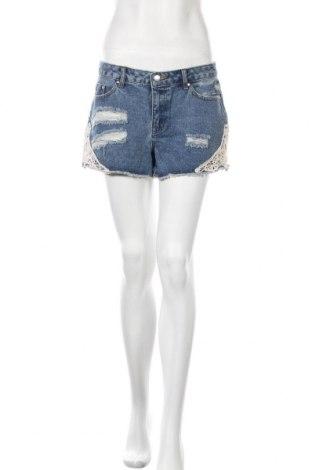 Дамски къс панталон About You, Размер M, Цвят Син, 93% памук, 7% еластан, Цена 34,50лв.