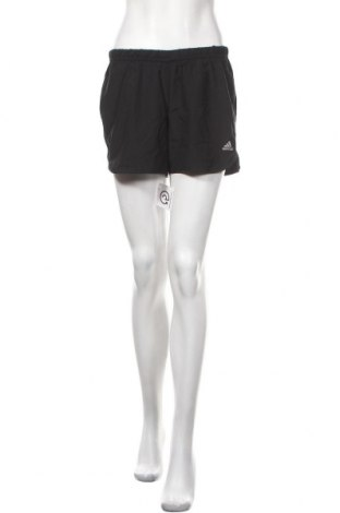 Γυναικείο κοντό παντελόνι Adidas, Μέγεθος S, Χρώμα Μαύρο, Τιμή 14,62€