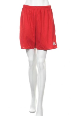 Γυναικείο κοντό παντελόνι Adidas, Μέγεθος L, Χρώμα Κόκκινο, 100% πολυεστέρας, Τιμή 12,86€