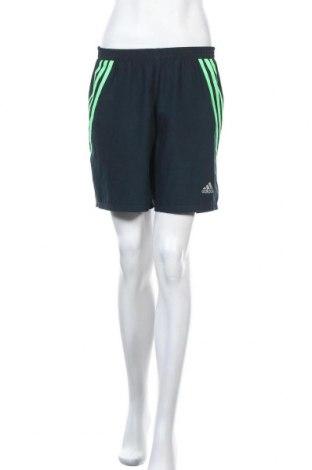 Γυναικείο κοντό παντελόνι Adidas, Μέγεθος M, Χρώμα Μπλέ, Τιμή 12,34€