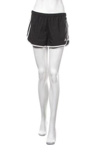 Γυναικείο κοντό παντελόνι Adidas, Μέγεθος M, Χρώμα Μαύρο, 100% πολυεστέρας, Τιμή 19,87€