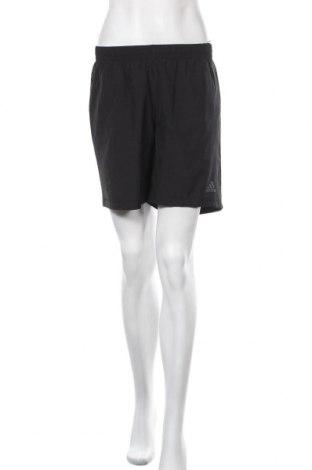 Γυναικείο κοντό παντελόνι Adidas, Μέγεθος S, Χρώμα Μαύρο, Πολυεστέρας, Τιμή 14,03€