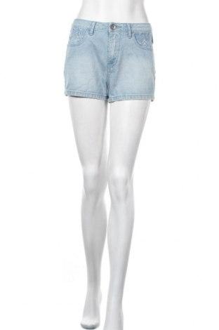 Дамски къс панталон Adidas Neo, Размер S, Цвят Син, Памук, Цена 24,57лв.
