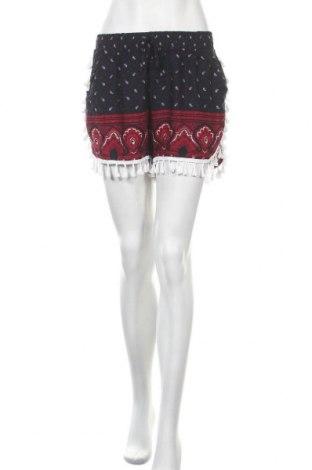 Γυναικείο κοντό παντελόνι Airisa, Μέγεθος M, Χρώμα Μπλέ, Βισκόζη, Τιμή 9,35€