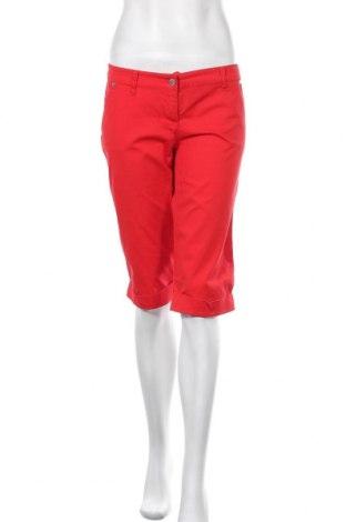 Дамски къс панталон Ann Christine, Размер XL, Цвят Червен, 98% памук, 2% еластан, Цена 5,71лв.