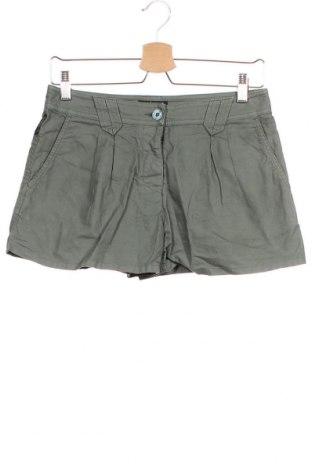 Дамски къс панталон Armani Exchange, Размер XS, Цвят Зелен, Памук, Цена 28,56лв.