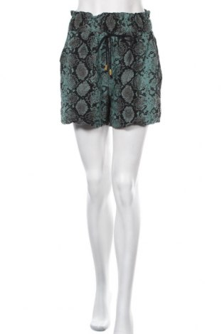 Γυναικείο κοντό παντελόνι Biba, Μέγεθος M, Χρώμα Πολύχρωμο, 54% βισκόζη, 46% βαμβάκι, Τιμή 18,77€