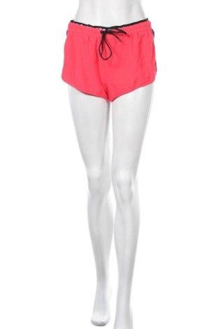 Дамски къс панталон Censored, Размер M, Цвят Розов, 92% полиестер, 8% еластан, Цена 9,56лв.