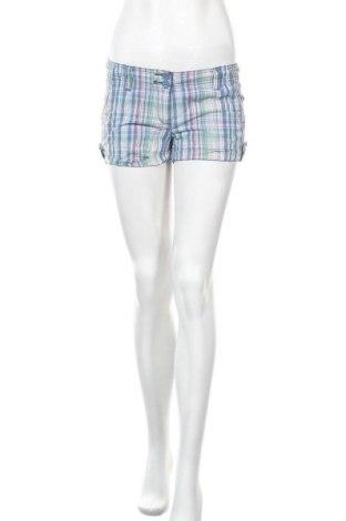 Дамски къс панталон Clockhouse, Размер S, Цвят Многоцветен, Памук, Цена 2,00лв.