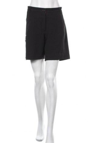 Γυναικείο κοντό παντελόνι Crane, Μέγεθος L, Χρώμα Μαύρο, 90% πολυεστέρας, 10% ελαστάνη, Τιμή 10,39€