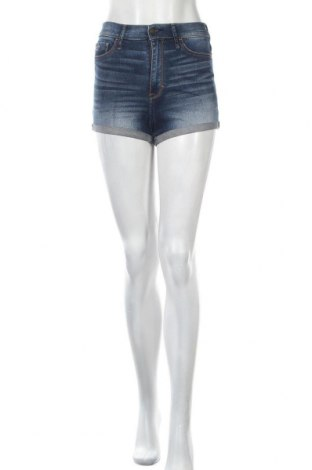 Γυναικείο κοντό παντελόνι Hollister, Μέγεθος S, Χρώμα Μπλέ, 99% βαμβάκι, 1% ελαστάνη, Τιμή 11,04€