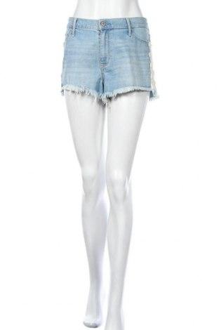 Γυναικείο κοντό παντελόνι Hollister, Μέγεθος L, Χρώμα Μπλέ, 78% βαμβάκι, 21% πολυεστέρας, 1% ελαστάνη, Τιμή 11,04€