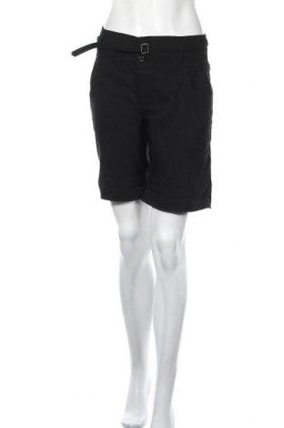Γυναικείο κοντό παντελόνι Identic, Μέγεθος M, Χρώμα Μαύρο, 87% πολυεστέρας, 10% βισκόζη, 3% ελαστάνη, Τιμή 10,39€
