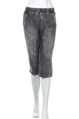Γυναικείο κοντό παντελόνι John Baner, Μέγεθος XL, Χρώμα Γκρί, 85% βαμβάκι, 12% πολυεστέρας, 3% ελαστάνη, Τιμή 11,69€