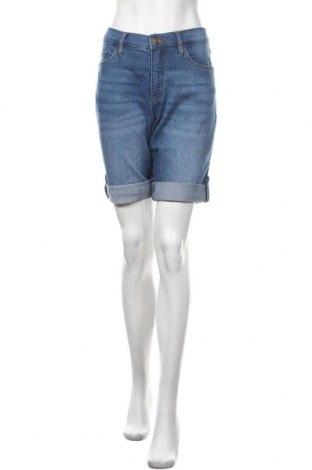 Γυναικείο κοντό παντελόνι John Baner, Μέγεθος L, Χρώμα Μπλέ, Τιμή 16,24€