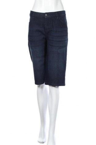 Γυναικείο κοντό παντελόνι John Baner, Μέγεθος XL, Χρώμα Μπλέ, 79% βαμβάκι, 20% πολυεστέρας, 1% ελαστάνη, Τιμή 14,81€