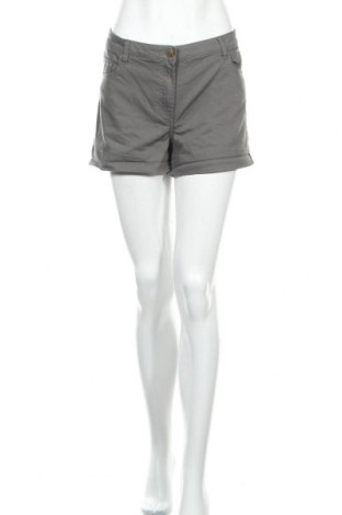 Дамски къс панталон Lh By La  Halle, Размер XL, Цвят Сив, 58% памук, 38% полиестер, 4% еластан, Цена 11,34лв.