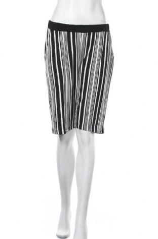 Γυναικείο κοντό παντελόνι Mia Moda, Μέγεθος XL, Χρώμα Λευκό, 95% βισκόζη, 5% ελαστάνη, Τιμή 10,52€